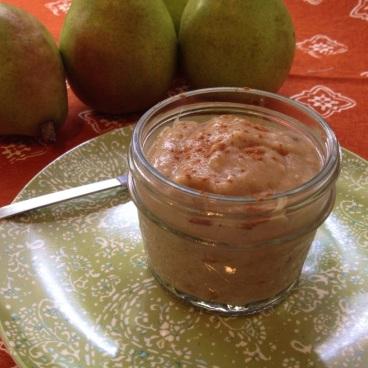 #banana #baby #food #recipes #pear #oatmeal
