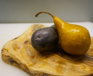 Purple Potato and Pear