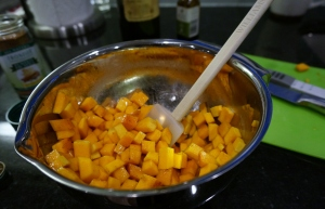 Butternut Squash Finger Food from LittlestFoodie.com
