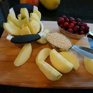 apple cranberry quinoa 4