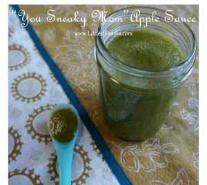 Apple Sauce with Spinach Baby Food Recipe